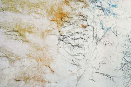 Abstract background with little branches on a wall