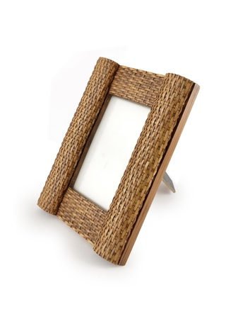front angle: Picture frame  Stock Photo