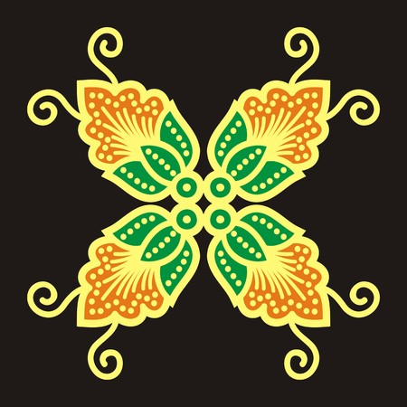 motive: batik motive