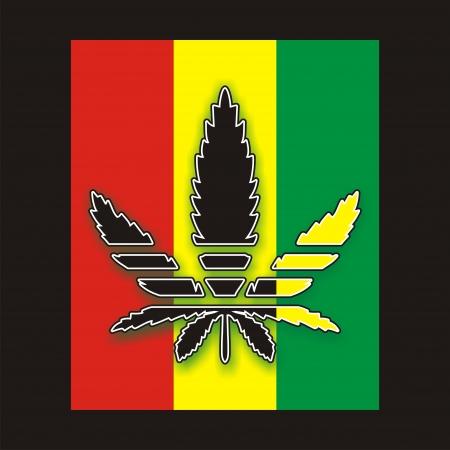 marijuana leaf: marijuana leaf Stock Photo