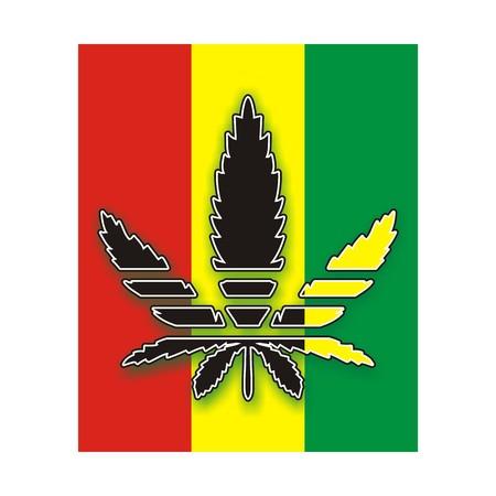 addictive: marijuana leaf Stock Photo