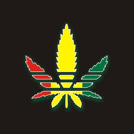hoja de marihuana  Foto de archivo - 7466926