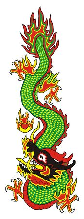 east asian ethnicity: dragon