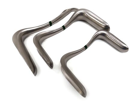 Sims Vaginal Speculum Used For Examining The Vagina And Cervix Banco de Imagens