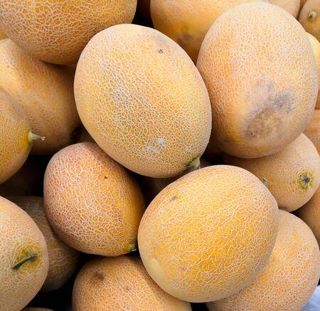 Sweet Melon Or Honeydew Melon In Market