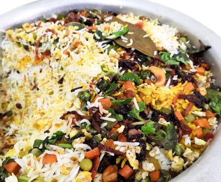 Kerala Style Special Spicy Mixed Vegetable Biryani