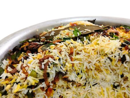 Closeup Image Of Kerala Style Special Colorful Fried Rice