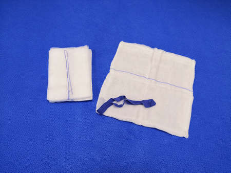 X ray Detectable Gauze Swab Using For Surgeries
