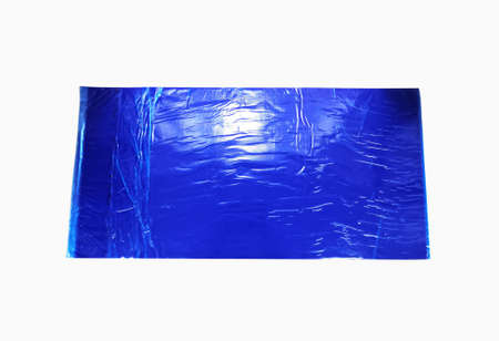 Blue Multilayer Disposable Sticky Dust Removal Mat. Using In Hospital Operation Theater For Decontamination Of Footwear