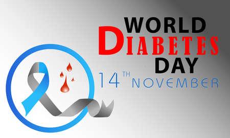 World Diabetes Day Banner Or Vector Design