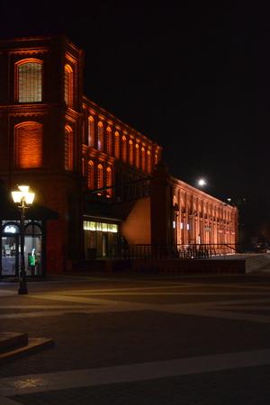 revitalization: Revitalized factory in Lodz - Poland Editorial