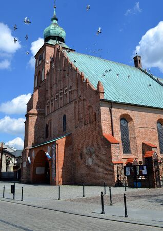 parish: parish church in Sieradz