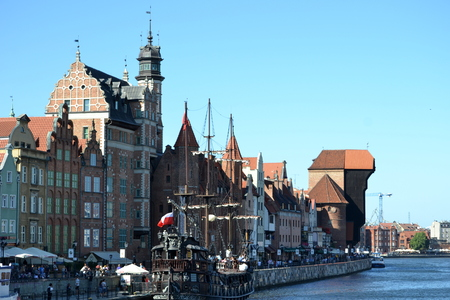 old town: Gdansk old town Stock Photo