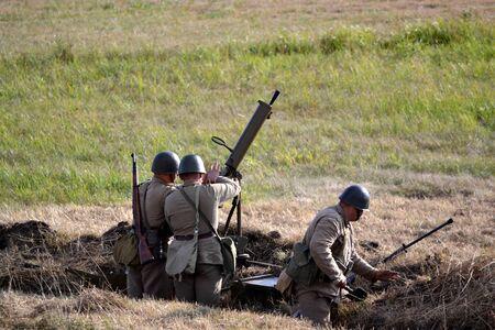staging: machine gun