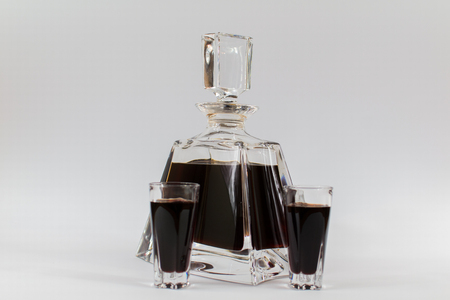 homely: Carafe with a homely tincture