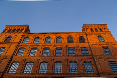 old buildings: Manufactory, Lodz, Poland