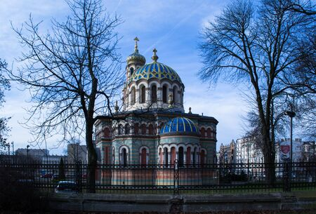 ortodox: The Orthodox Church is dedicated St. Alexander Nevsky Cathedral in the city of Lodz - Poland