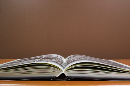 hardcovers: Open book - Reading