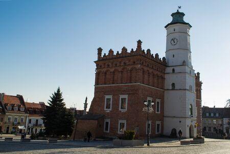 Old Town à Sandomierz, Pologne Banque d'images - 52368710