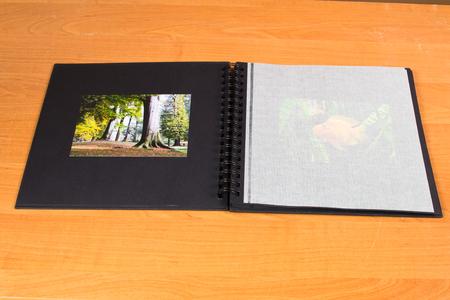 color photographs: photo album
