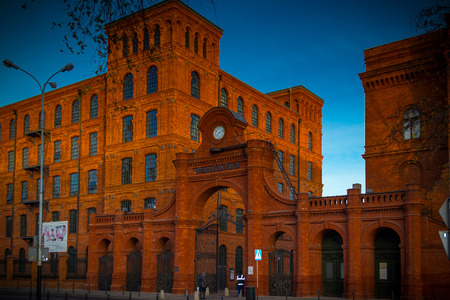 renewing: Sights of the city of Lodz, Poland