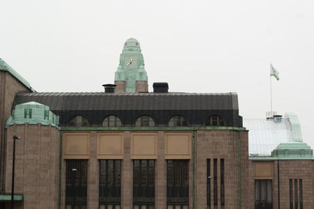 helsinki: Railway station in Helsinki, Finland