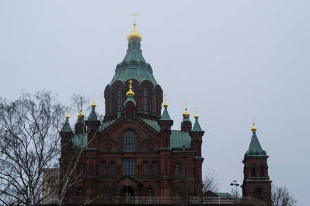 helsinki: The Orthodox Church in Helsinki, Finland