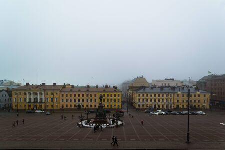 helsinki: Senate Square in Helsinki, Finland