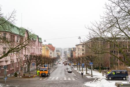 turku: Street in Turku, Finland