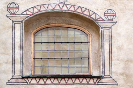 turku: Elements of architecture, castle Turku, Finland