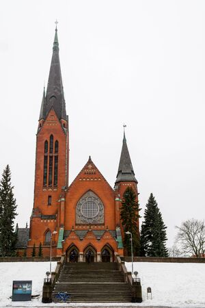 turku: Church of St. Michael in Turku, Finland Stock Photo