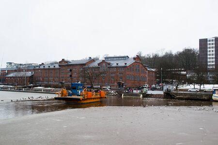 turku: Ferry River in Turku, Finland