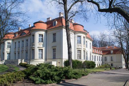 mansard: Palace in Lodz, Poland