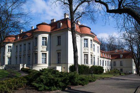 portico: Historic architecture of Lodz, Poland Editorial