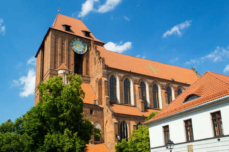 house of god: Church Cathedral in Torun