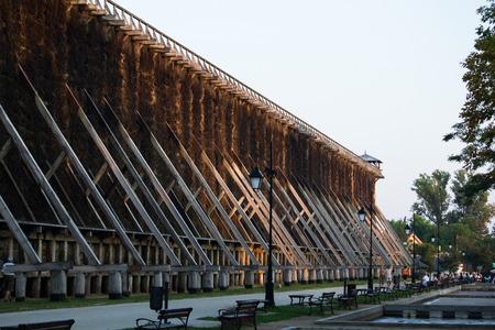 brine: Ciechocinek - brine graduation towers
