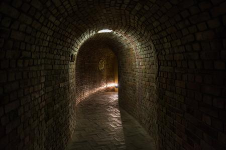 Tunnels under the market of Sandomierz, Poland