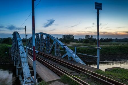 ner: Bridge on the River Ner, Poland