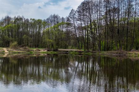 wild river in central Poland