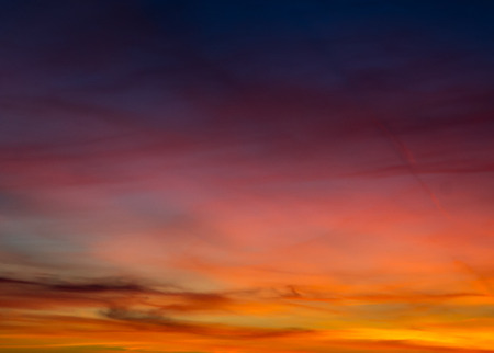Sunset in colors