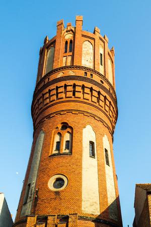 Tower Chelmno, Poland Stock Photo