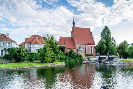 City of Bydgoszcz, Poland Stock Photo