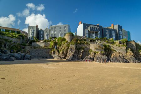 Beach and coastal cities in Wales.