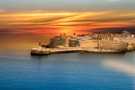 Malta, a picturesque island in the Mediterranean