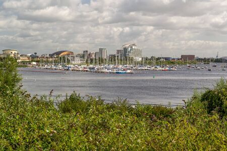 Cardiff Bay is the area of water created by the Cardiff Barrage in south Cardiff, the capital of Wales.