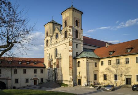 Benedictine Abbey in Tyniec, Krakow, southern Poland.