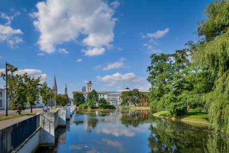 Historic city center of Lodz, Poland