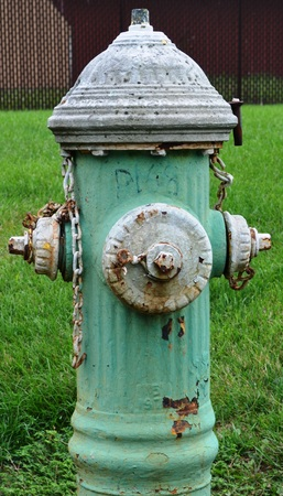 borne fontaine: Old Fire hydrant