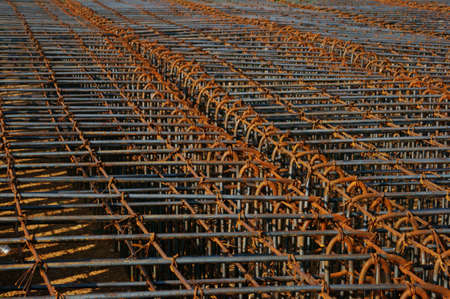 structural steel: Structural steel for construction. Stock Photo