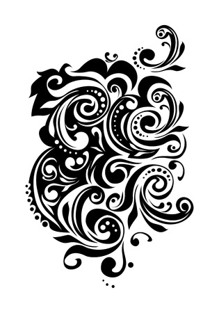 folk floral pattern Vector